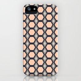 Pink Hexies iPhone Case