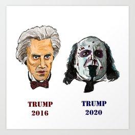 Dueling Trumps Art Print