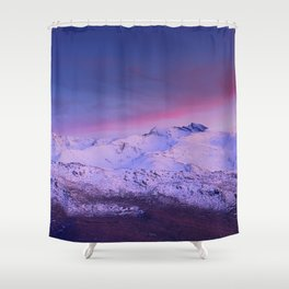 Sierra Nevada mountains. More than 3000 meters hight Shower Curtain