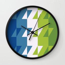 rhombo combo Wall Clock
