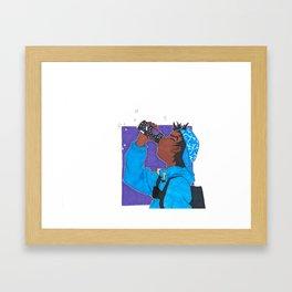 Grape Drank Framed Art Print