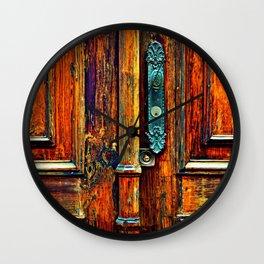Doorways V Wall Clock