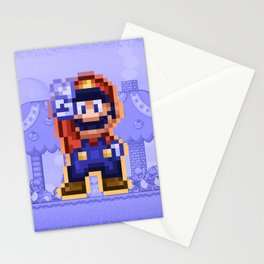 Peace Mario Stationery Cards