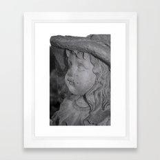 cobwebbed beauty Framed Art Print