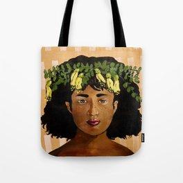 Kowhai Crown Tote Bag