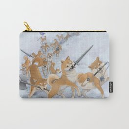 Cry Heckin' and Let Slip the Doges of War Carry-All Pouch