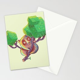 Lil Loris into the Wild Stationery Cards