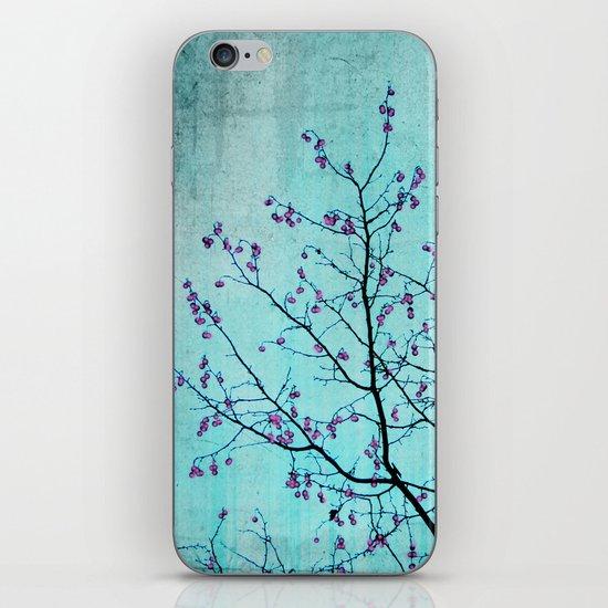 pink berries iPhone & iPod Skin