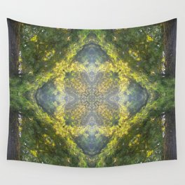 Forest Quadrant Wall Tapestry