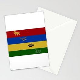 Lion, Eagle, Badger, Snake Stationery Cards