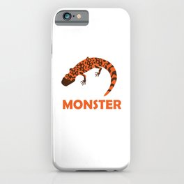 Herpetology Reptilian Cold Blooded Animal Gift I'm A Gila Monster Lizard Reptile Alligator iPhone Case