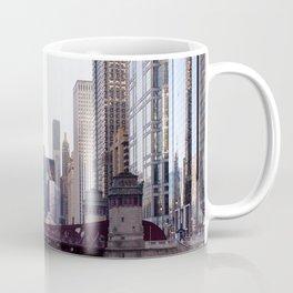 Chicago River Skyline Coffee Mug