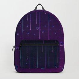 Pixelrain Video Games Inspired Pattern Backpack