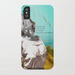 Prediction - Collage iPhone Case