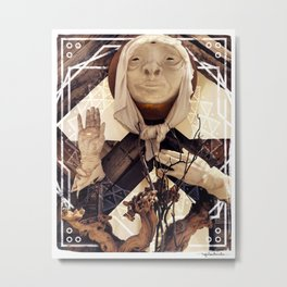 Elder of the Northern Gate Metal Print