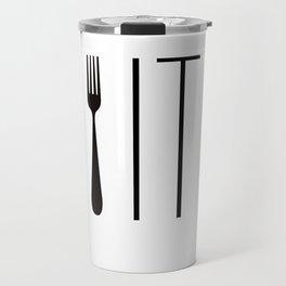 Fork It Travel Mug