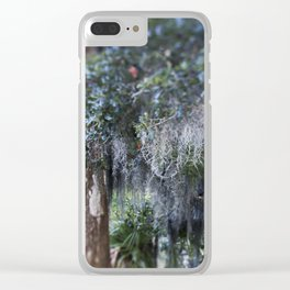 New Orleans Spanish Moss Clear iPhone Case