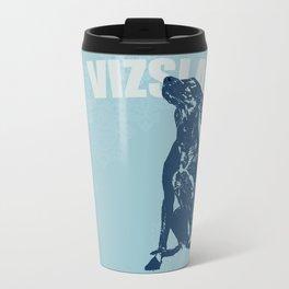 Vizsla Dog Art Travel Mug
