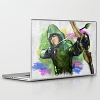 arrow Laptop & iPad Skins featuring arrow by evenstarss