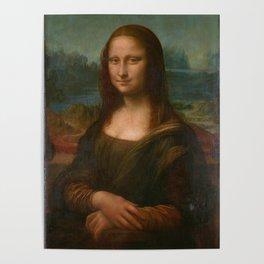 Mona Lisa Classic Leonardo Da Vinci Painting Poster