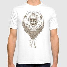 lady death // brown T-shirt