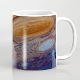 The Giant Red Spot on Planet Jupiter Coffee Mug