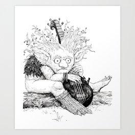 Brim-brim Art Print