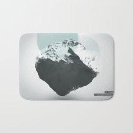 Mt. Everest - The Surreal North Face Bath Mat