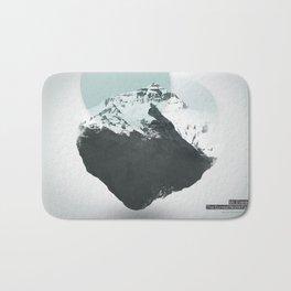 Mt. Everest - The Surreal North Face Bath Mat