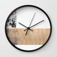 jfk Wall Clocks featuring JFK by Brandon Neher