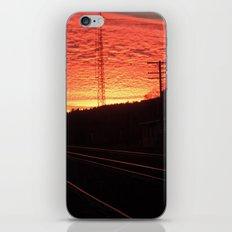 Sunset Railroad iPhone & iPod Skin