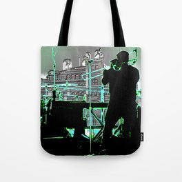 Big Sam (Trombone Man) Tote Bag