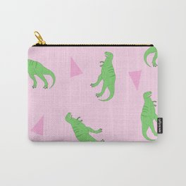 T-Rex Girly Pattern Carry-All Pouch