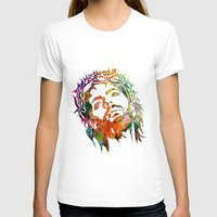 jesus T-shirts featuring JESUS  by mark ashkenazi