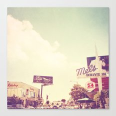 Ketchup. West Hollywood Los Angeles photograph Canvas Print