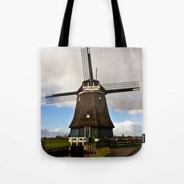 Traditional Dutch Windmill Tote Bag