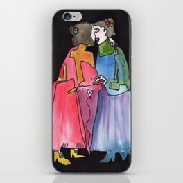 Timeless Lady Love iPhone Skin