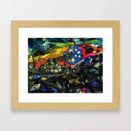 Shock & Desire Framed Art Print