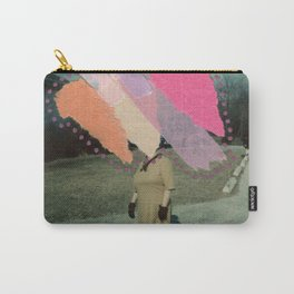 Salmon Crash Carry-All Pouch