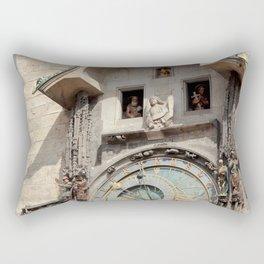 Astronomical Clock Prague #2 Rectangular Pillow