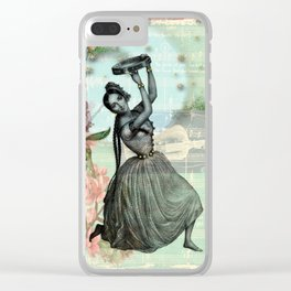 Gypsy Love Song Clear iPhone Case