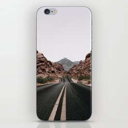 Road Trip / Valley of Fire iPhone Skin