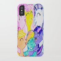 my little pony iPhone & iPod Cases featuring My Little Pony by Maranda Rae