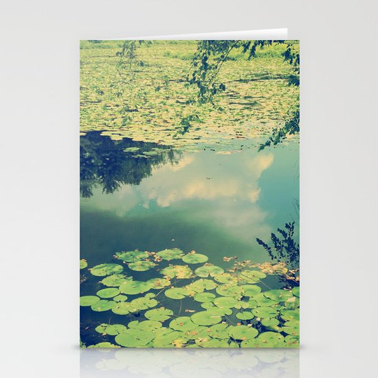 Lily Pad Pond Stationery Cards
