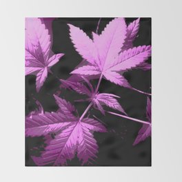 DaPlant Purple - #GreenRush Collective Throw Blanket