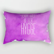 Today Will Be For Hygge Rectangular Pillow