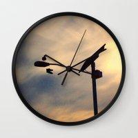 shoe Wall Clocks featuring Shoe Bird by Ken Seligson