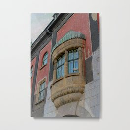 Retro city hall in Subotica Metal Print