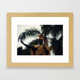 King Kamehameha I Framed Art Print