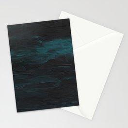 Dark Teal Sea Stationery Cards